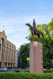 Monumento della guardia del pensionante Immagine Stock