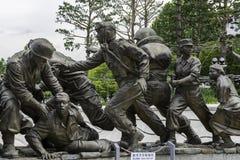 Monumento della guerra di Corea Fotografia Stock Libera da Diritti