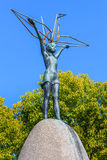 Monumento della pace dei bambini a Hiroshima immagine stock libera da diritti