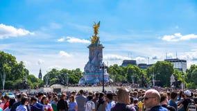 Monumento della regina Victoria Fotografia Stock Libera da Diritti