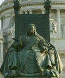 Monumento della regina Victoria Kolkata, India Fotografie Stock Libere da Diritti