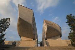 Monumento della rivolta nazionale slovacca Fotografia Stock Libera da Diritti