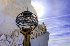 Monumento della scoperta portoghese Fotografia Stock