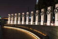 Monumento della seconda guerra mondiale Fotografie Stock