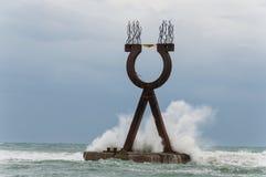 Monumento di Alpha Omega Fotografie Stock Libere da Diritti
