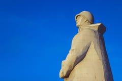 Monumento di Alyoshka WWII Immagine Stock Libera da Diritti