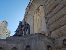Monumento di angelo fotografia stock libera da diritti