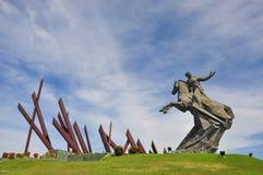 Monumento di Antonio Maceo in Santiago di Cuba, Cuba fotografia stock