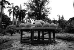 Monumento di astrologia nel parco di Lumpini, Bangkok Fotografia Stock Libera da Diritti