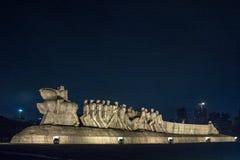 Monumento di Bandeiras Fotografie Stock Libere da Diritti