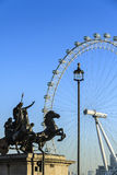 Monumento di Boadicea a Londra Fotografia Stock Libera da Diritti