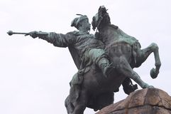 Monumento di Bogdan Khmelnitsky Immagini Stock Libere da Diritti