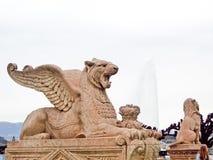 Monumento di Brunswick, Geneve, Svizzera Immagine Stock Libera da Diritti