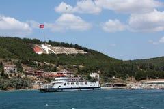 Monumento di Canakkale Immagini Stock Libere da Diritti