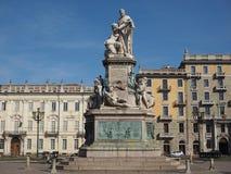 Monumento di Cavour a Torino Immagine Stock Libera da Diritti