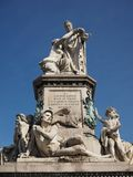 Monumento di Cavour a Torino immagini stock