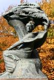 Monumento di Chopin fotografie stock libere da diritti