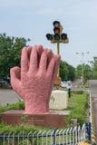 Monumento di cooperazione in Trichy Fotografie Stock Libere da Diritti