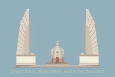 Monumento di democrazia Fotografie Stock