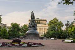 Monumento di Ekaterina II Fotografia Stock