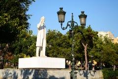 Monumento di Eleftherios Venizelos immagine stock