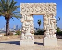 Monumento di fede Immagini Stock