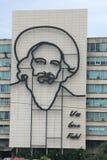 Monumento di Fidel Castro a Avana, Cuba Fotografia Stock Libera da Diritti