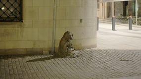 Monumento di Fox a Stoccolma Immagine Stock