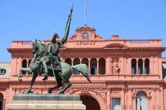 Monumento di generale Belgrano Fotografie Stock