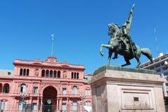 Monumento di generale Belgrano Fotografie Stock Libere da Diritti