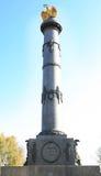 Monumento di gloria, Poltava Fotografie Stock Libere da Diritti
