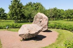 Monumento di granito schiacciato Immagini Stock