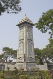 Monumento di guerra in Chennai Fotografia Stock Libera da Diritti
