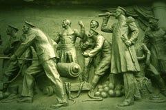 Monumento di guerra della Crimea del particolare. Sebastopoli Fotografia Stock Libera da Diritti