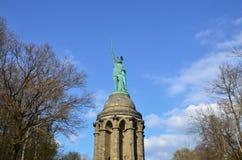 Monumento di Hermann Fotografia Stock
