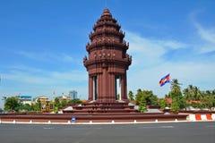 Monumento di indipendenza Immagini Stock Libere da Diritti