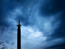 Monumento di indipendenza a Almaty Immagine Stock Libera da Diritti