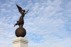 Monumento di indipendenza a Kharkiv fotografia stock libera da diritti
