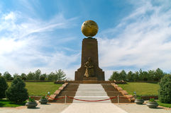 Monumento di indipendenza in Taškent, l'Uzbekistan fotografia stock libera da diritti
