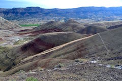 Monumento di John Day Fossil Beds National, Oregon Fotografia Stock Libera da Diritti