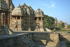 Monumento di Khajuraho fotografia stock