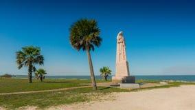 Monumento di LaSalle, Matagorda il Texas fotografia stock libera da diritti