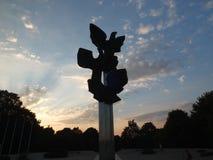 Monumento di lavoro della gente polacca Fotografie Stock Libere da Diritti