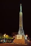Monumento di libertà; Riga; La Lettonia Immagine Stock Libera da Diritti