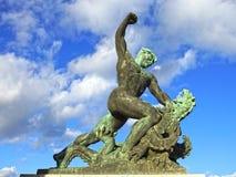 Monumento di libertà sulla collina di Gellert, Budapest, Ungheria Fotografie Stock Libere da Diritti