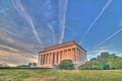 Monumento di Lincoln Fotografia Stock