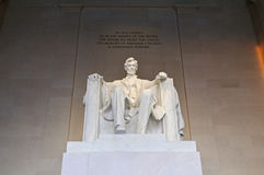 Monumento di Lincoln Fotografie Stock Libere da Diritti