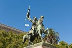 Monumento di Manuel Belgrano a Buenos Aires Fotografia Stock