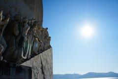 Monumento di Mare-Scoperte a Lisbona, Portogallo Immagini Stock