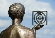 Monumento di Marie Curie Immagine Stock